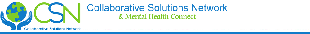 Collaborative Solutions Network and Mental Health Connect